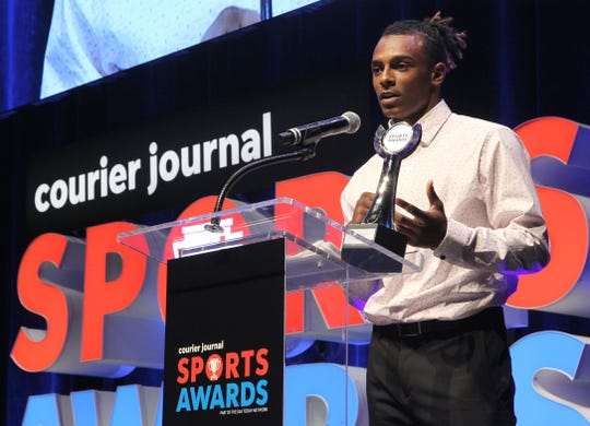 Courier Journal Sports Awards in Louisville, Kentucky.    June 2, 2019