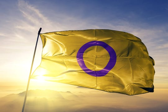 The intersex flag was created in Australia in 2013.