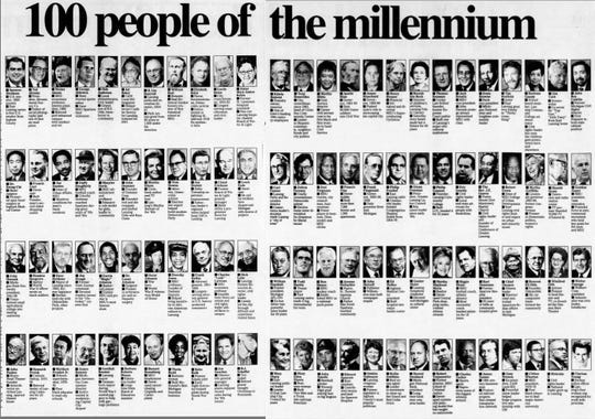 "Joe Drolett was named one of the State Journal's ""100 people of the millennium"" in 1999."