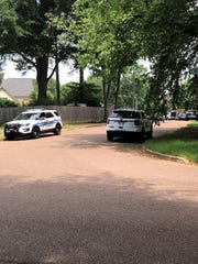 Collierville police are on the scene of an officer-involved shooting at a Collierville residence Monday morning.