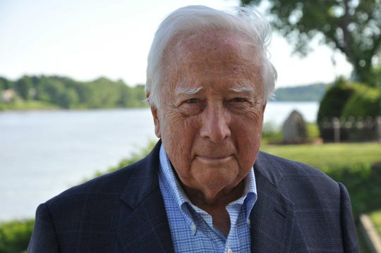 """The Pioneers"" author David McCullough."