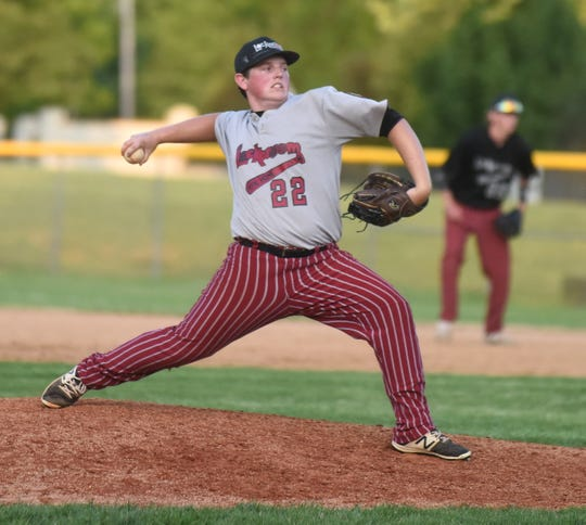 Lockeroom pitcher Tyler Smith delivers during action earlier this season.