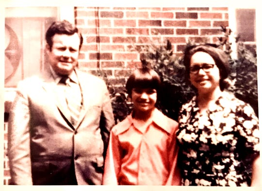 Country singer John Berry as a boy with his parents, Jim and Marie.