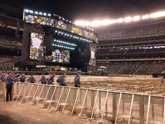 A storm halted Hot 97 Summer Jam t MetLife Stadium on Tuesday night, June 2, 2019.