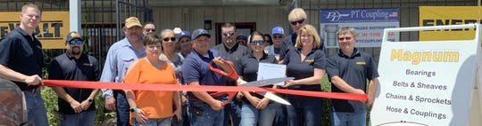 The Deming-Luna County Chamber of Commerce welcomed Magnum Industrial Distributors to the local business community with a ribbon cutting ceremony and open house on Saturday, June 1, 2019. Magnum Industrial Distributors is your one-stop shop for all your industrial parts and personal protective equipment. They provide customers with a high level of service from the whole team, so you are never alone. The business is located at 1800 Columbus Road. For more information and service call 575-936-2500.