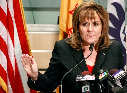 Amy Orlando in 2012 was a candidate for Doña Ana County district attorney.