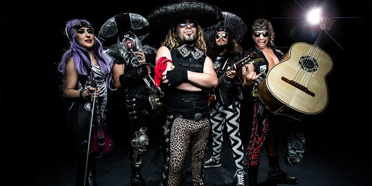 Metalachi: The World's First and Only Heavy Metal Mariachi Band, will be rocking out at the Rio Grande Theatre, 211 N. Main St., Friday, June 14.