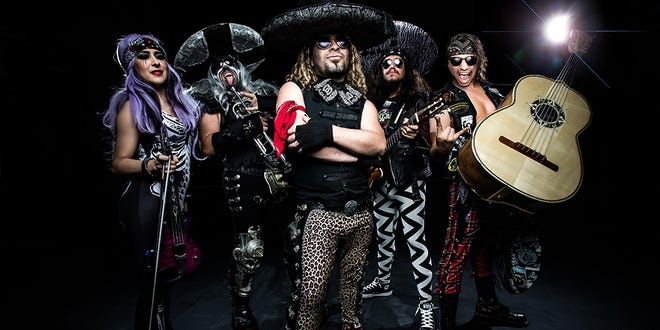 Metalachi: The World's First and Only Heavy Metal Mariachi Band, will be rockingoutat the Rio Grande Theatre, 211 N. Main St., Friday, June 14.
