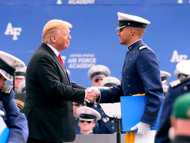 Trump: Mission of Academy grads vital to keeping U S  safe