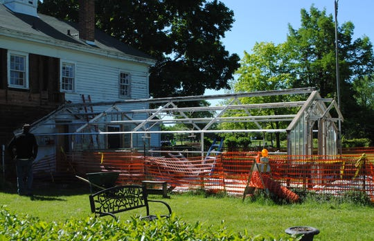 The greenhouse attached to the Carriage House will get a massive makeover this summer.