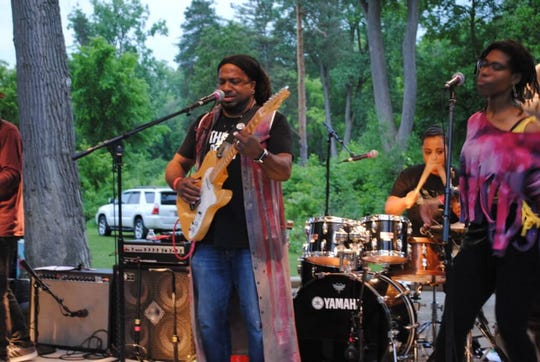 Nadir Omowale, a performer of urban and stone cold funk, is the headliner for the Currents Music Festival June 8 in Milford.