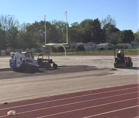 Livonia Franklin's multi-purpose turf field is being replaced this summer.