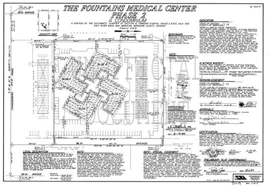 The Fountains Medical Center plans