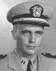 Robert Heiskell served in the U.S. Navy.