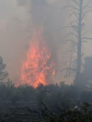 The Maroon Fire has burned 7,000 acres just north of Flagstaff.