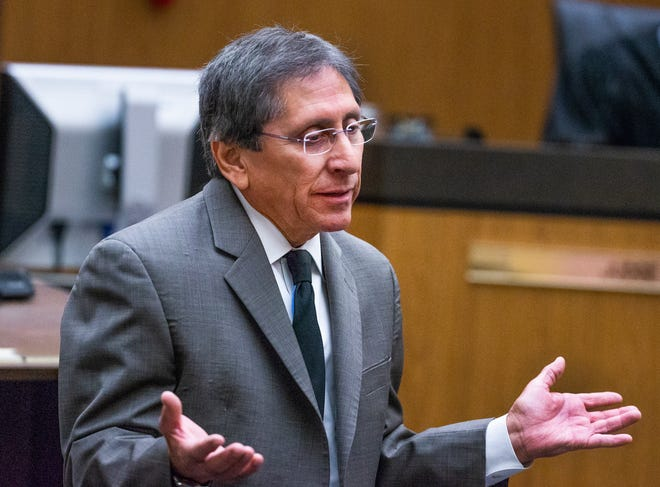 Maricopa County prosecutor Juan Martinez will be reassigned to auto theft division as a State Bar ethics complaint against him advances.