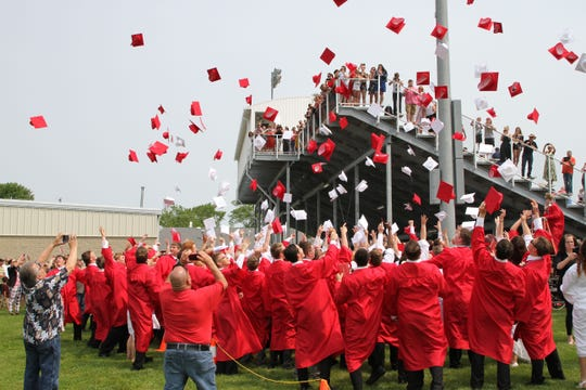 Port Clinton High School's 135th annual commencement took place on June 1, 2019.