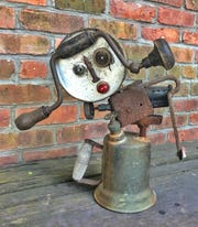 """Betty Boop,"" assemblage, by Madlyn Goldman."