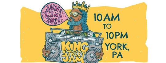 The King Street Jam is Saturday, June 22.