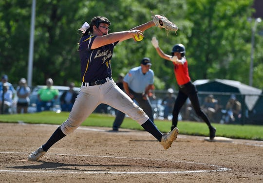 Eastern York's Maelynn Leber was the York-Adams League Division II Player of the Year and Pitcher of the Year for the 2019 softball season.