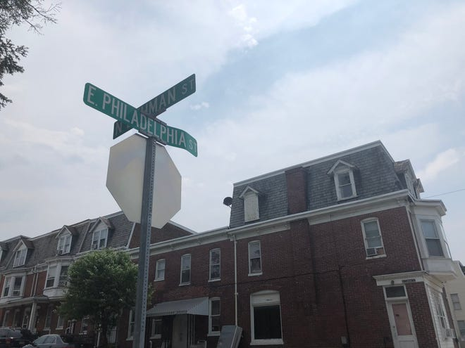 Tre J. Hartman, 13, died from a stab wound to the neck while inside a home in the 1000 block of East Philadelphia Street Saturday, June 1. Lindsey O'Laughlin photo.