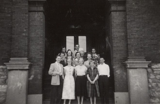 This photo from June 1958, shared by the family of former Garfield teacher Mary Lease, shows some of the school's teachers.