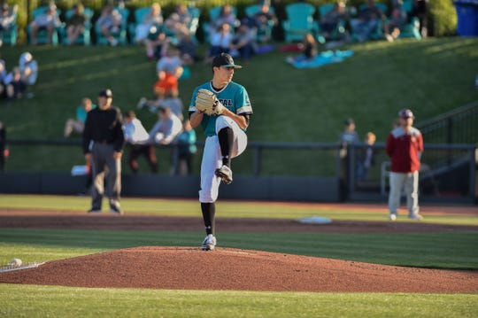 Nick Parker spent time as a starter and reliever for Coastal Carolina this season. The Dallastown graduate won the team's only NCAA Regionals victory this past Saturday.