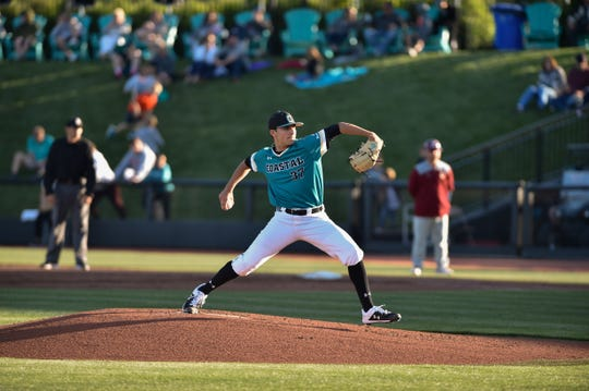 Nick Parker won an NCAA Regionals game for Coastal Carolina this past Saturday.