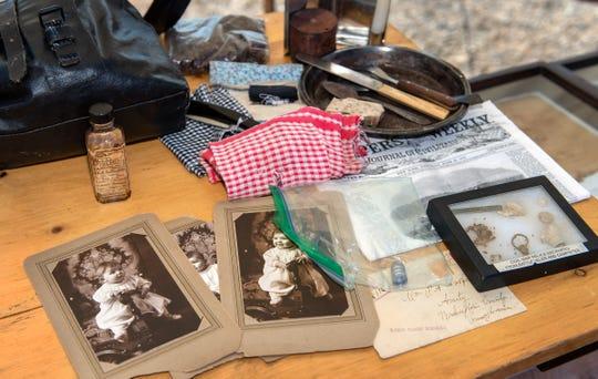 Nevada Civil War Volunteers display items from the Civil War era.