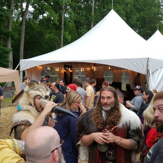 People come dressed as Vikings to the Brimming Horn event, which returns to the meadery in Milton for a second year on June 7-9.