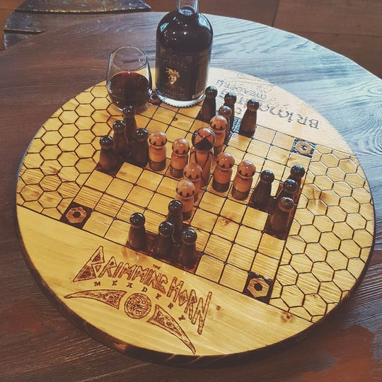 The Viking celebration at Brimming Horn Meadery will give attendees a chance to play Hnedatafl, a family of Nordic board games.