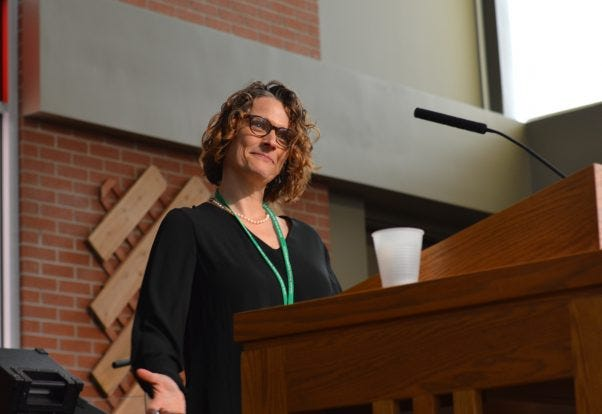 Constanze Hagmaier, the bishop-elect of the South Dakota Synod of the Evangelical Lutheran Church in America.