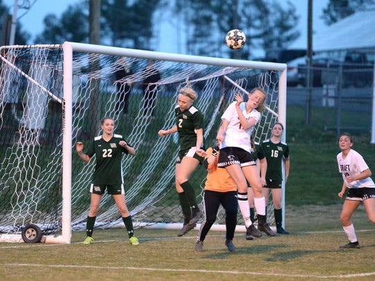 Stuarts Draft will take on Maggie Walker in the VHSL Class 2 girls soccer state quarterfinals Tuesday night,.