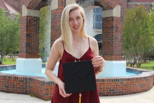 """Mikaela Bender graduated from FSU in May with a bachelor's degree in Editing, Writing and Media. She began writing her first novel, """"Expiration Date,"""" when she was 16."""