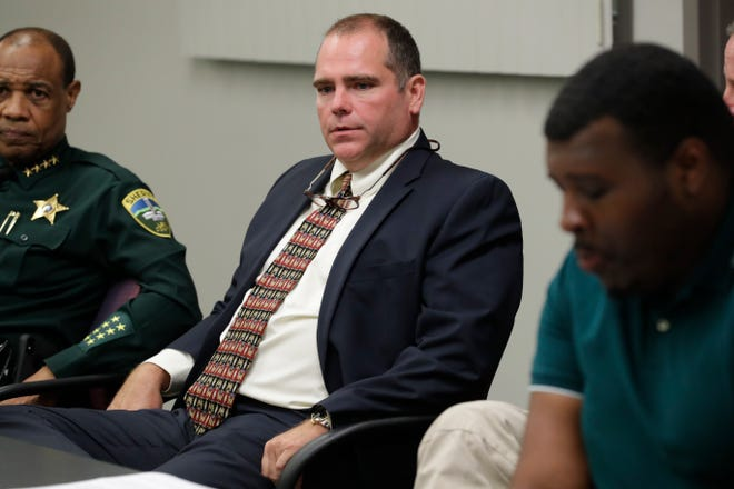 Second Judicial Circuit State Attorney Jack Campbell speaks during a meeting between area law enforcement and the Tallahassee Democrat to discuss a new federal, state and local strike force created to target gun crime Monday, June 3, 2019.