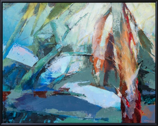 Abstract landscape by Keith McCulloch