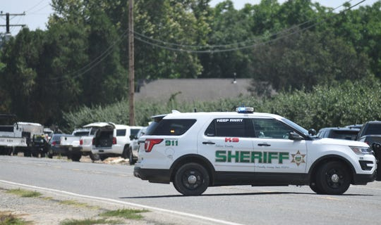 Tulare County sheriff's deputies arrested Randy Scroggins, 43, after an eight-hour standoff in Farmersville on Sunday, June 2, 2019.