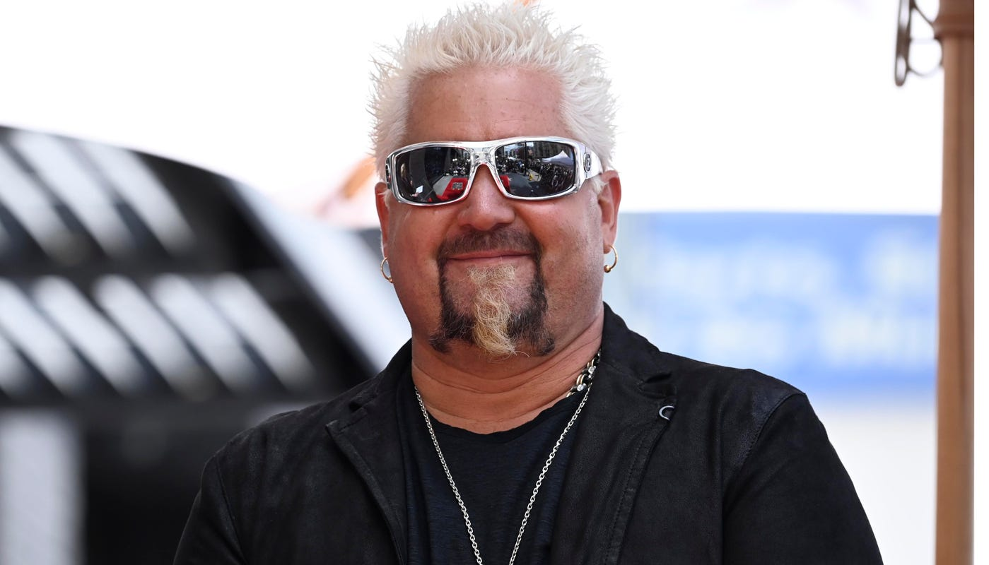 Guy Fieri is in town. Is Vermont making its debut on Diners, Drive-ins and Dives?