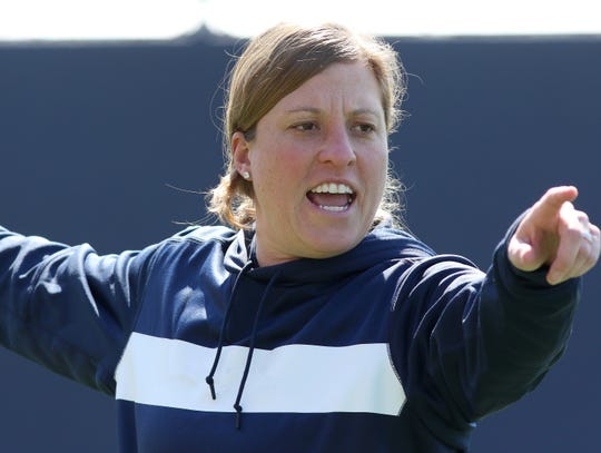 New University of Delaware women's lacrosse coach Amy Altig comes from Penn State, where she was associate head coach.