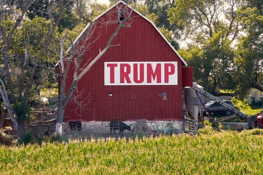 On top of bad weather, farmers worry about the country's increasingly stormy relations with trading partners, especially China.  Many of them are sitting on the fence to see if President Trump will follow through on his trade promises.