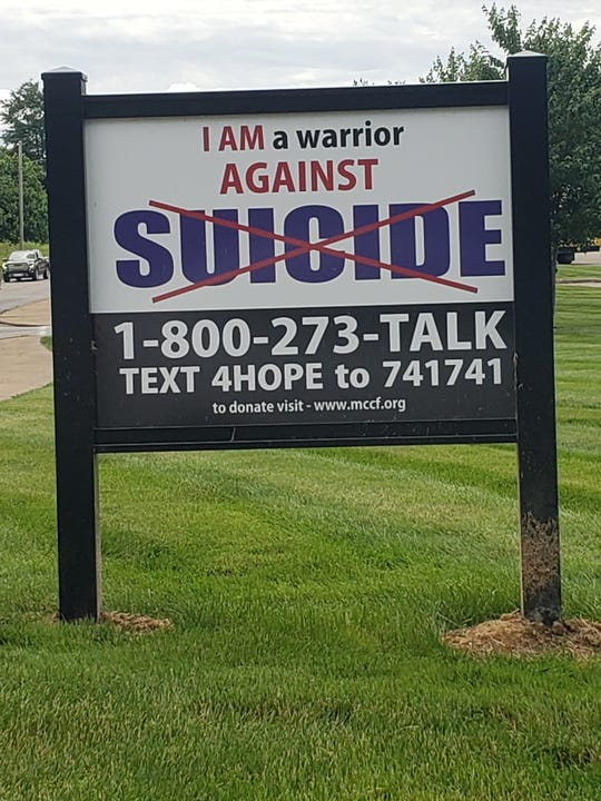 A drive is currently underway to have such awareness signs placed on school campuses across Muskingum County.