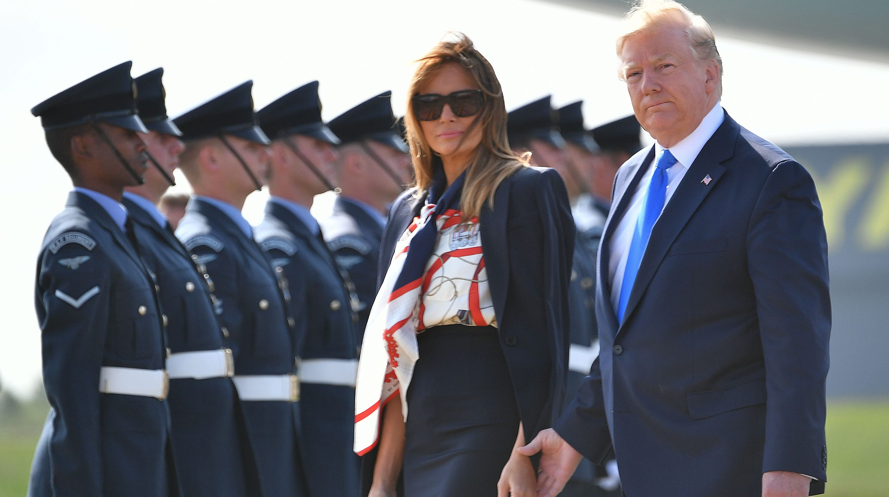 0ff76a2c6c Trump's U.K. visit: What you need to know, from royal ceremony to protests  in London