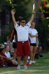 Former USC womens soccer coach Ali Khosroshahin. (Via MerlinFTP Drop)