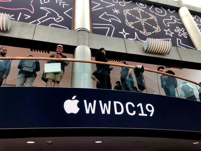 The Apple WWDC conference