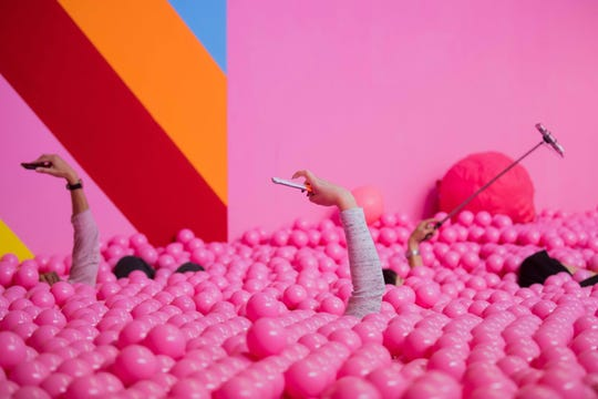 Supercandy Pop-Up Museum in Cologne, Germany, on Sept. 27, 2018.