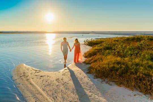 Take a serene walk along Florida's Paradise Coast.