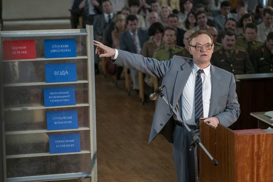 Valery Legasov (Jared Harris) gets to the core of the Chernobyl disaster.