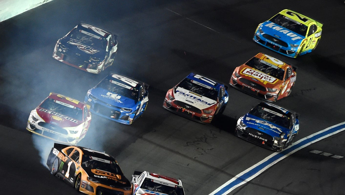 NASCAR Cup Series at Charlotte: Starting lineup, TV schedule for Wednesday's race