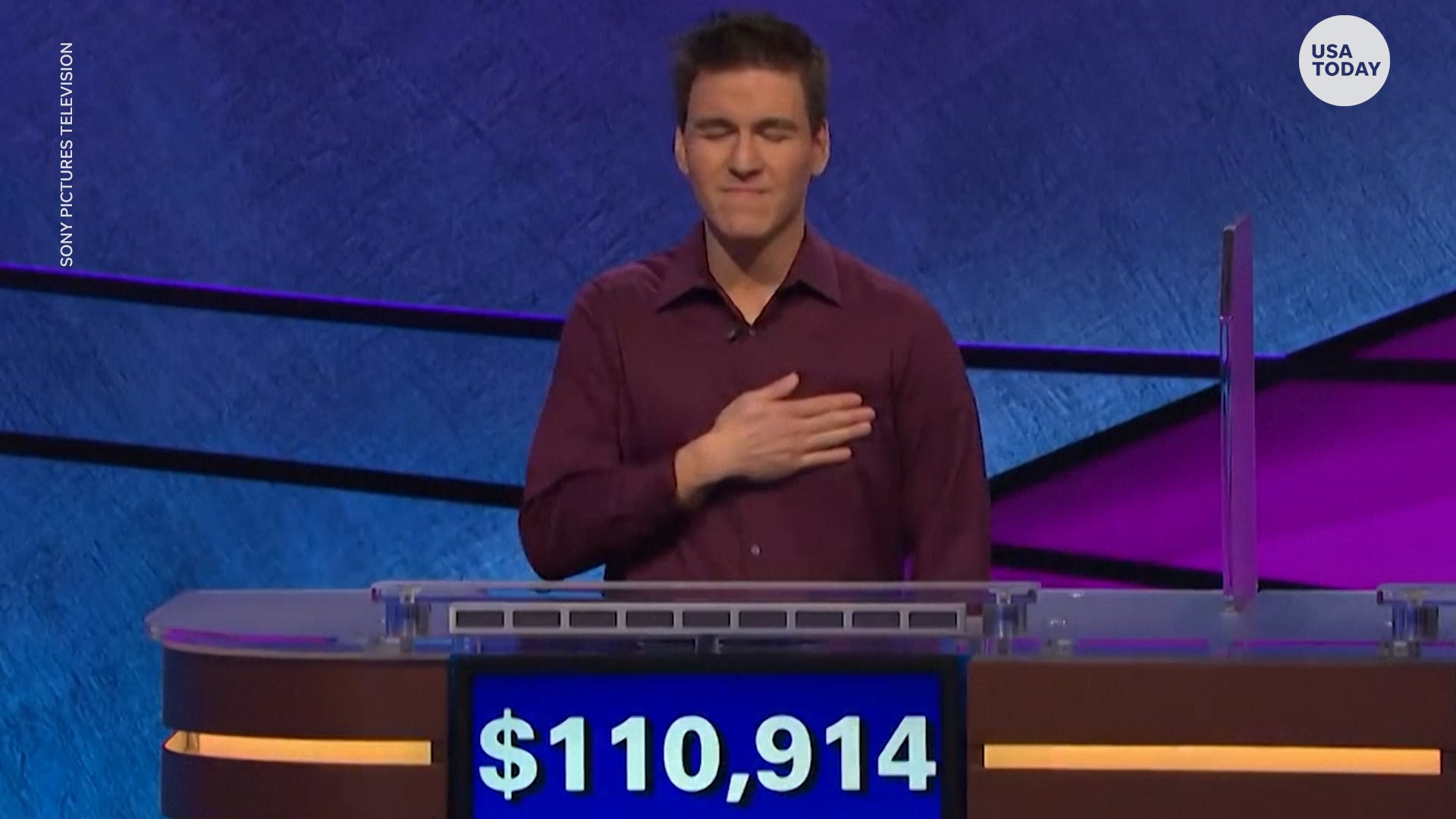 James Holzhauer ends 32-game 'Jeopardy!' winning streak
