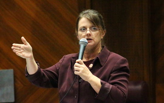 Republican Rep. Kelly Townsend serves in the Arizona House of Representatives.